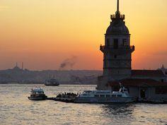 Istanbul Üsküdar and Kız Kulesi