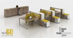 NOT SO square OPEN Interior Design Magazine Best Of Year Honoree 2014! NOT SO square OPEN offers open plan benching, co-working and adjustable height solutions! Like us on Facebook at https://www.facebook.com/darranfurniture