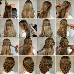 Laura Kaszoni wedding hair tutorial