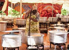 libyan woman cooking