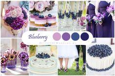 Синий, фиолетовый, черничный / Blue, Purple, Blueberry