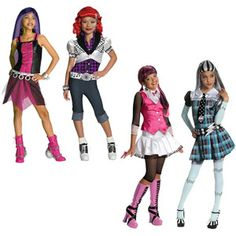 Monster High Child Halloween Costume Value Bundle (Choose 2)