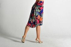 BELLA Tango skirt in summer print