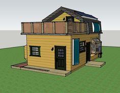 Misty Robinson's 16x25 Off-Grid House - Simple Solar Homesteading