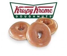 Free Krispy Kreme Doughnuts