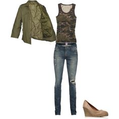 cute outfit, minus the skinny jeans :)