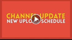 NEW UPLOAD SCHEDULE  Channel Update  http://videotutorials411.com/new-upload-schedule-channel-update/  #Photoshop #adobe #lightroom #graphicdesign #photography