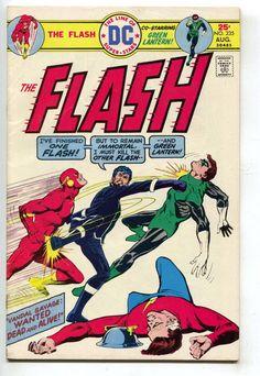 Flash 235 1st Series DC 1975 FN Vandal Savage Green Lantern Mirror Master