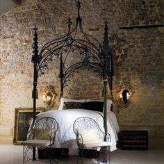 gothic check designs   Gothic Bedroom Designs Image
