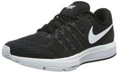 dffbaa211f212 Nike Womens Air Zoom Vomero 11 Black White Anthracite Dark Gry Running Shoe  8.5 Women US