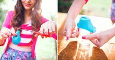garrafas decoradas com bexigas para casamento - Pesquisa Google