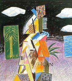 David Hockney, 'Barbican Centre For The Arts, City of London', 1982, Roshkowska Galleries   Artsy