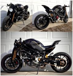 what the beautiful... Ducati monster cafe