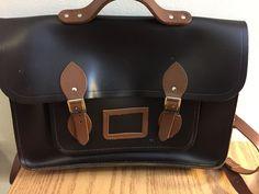 Dark Brown leather Cambridge Satchel bag.   eBay!