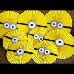 Minions Birthday Theme, Minion Party Theme, 3rd Birthday Parties, 2nd Birthday, Minion Centerpieces, Minion Party Decorations, Diy Birthday Decorations, Bible Crafts For Kids, Animal Crafts For Kids