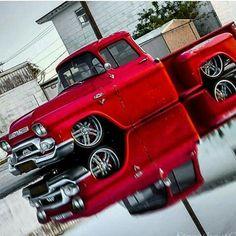 Not a Chevy Apache but damn! 57 Chevy Trucks, Vintage Chevy Trucks, Custom Chevy Trucks, Gm Trucks, Cool Trucks, Truck Drivers, Lifted Chevy, Diesel Trucks, Custom Cars