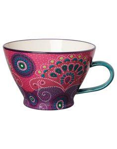 Indiska mug is so cute, it's perfect