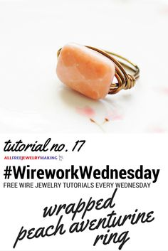 One of our favorite wire ring tutorials from @OEHandmade! #WireworkWednesday