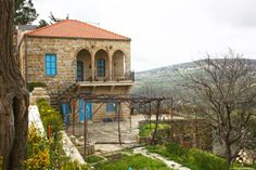 Gorgeous old Lebanese architecture Modern Architecture Design, Interior Architecture, Beirut Lebanon, Good House, Old Buildings, Traditional House, Decoration, House Plans, Outdoor Structures