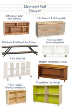 Montessori Style Shelf Round-Up   Hellobee