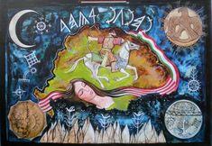 A Nemzet Sorsa David, Julia, Tantra, Hungary, Mandala, Spirituality, 1, Quilts, History