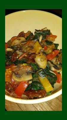 Lekker en leuk!: Gewokte spinazie