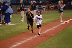 Every Sunday home game at Tropicana Field is Family Fun Day! Post-game, kids can run the bases or take part in a wiffle ball home run derby in left field.