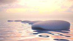 Canvas-taulu Zen kiviä vedessä 2951   Finnish Art Shop Showroom, Accounting, Leadership, Zen, Brother, Waves, Business, Outdoor Decor, Communication