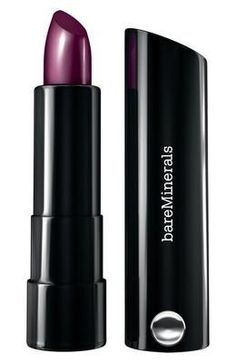 My favorite plum lipstick for Fall: Bare Minerals Moxie Lipstick in LEAD THE WAY. #eBayCollection