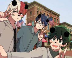 Todoroki Shouto, Iida Tenya & Midoriya Izuku || Boku no Hero Academia