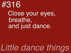 ゝ。Close your eyes, breathe, and just dance.。
