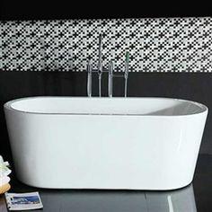 Badkar Bathlife Monte 1701 Vit