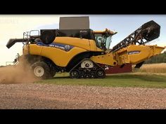 World Amazing Modern Agriculture Heavy Equipment Mega Machines, Tractor ...