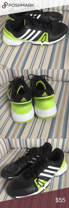 Adiddas court shoe Tennis court shoe worn less than five times. Great condition! Adidas Shoes Athletic Shoes
