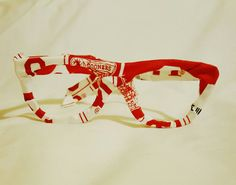 Glasses OK Sooners Fabric Covered Fashion by BundlesOfJoyDesigns