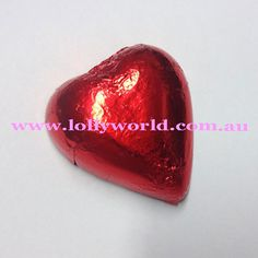 Red chocolate hearts are creamy milk chocolate in red foil. Add elegance to your special day with chocolate hearts for your wedding bonbonniere. Red Chocolate, Chocolate Hearts, How To Make Chocolate, Alison Brie, Food Safety, Home Made Soap, Be My Valentine, Soap Making, Brisbane