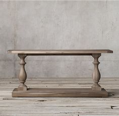 17th C. Monastery Console Table