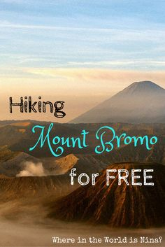 This is the ULTIMATE guide for hiking Mount Bromo for FREE. Yes- FREE! The solo hike is definitely worth it and I can tell you right now, actually seeing Mount Bromo, rather than 100 heads in front of you, is much nicer! :) Java, Indonesia