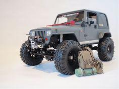 Super scale Jeep Crawler 1/10 matte finish