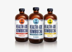 Before & After: Health Ade Kombucha. I actually really like the Before too though