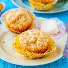 Cheddar Cheese & Olive Oil Muffins
