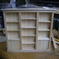 Tutorial for a miniature wall unit