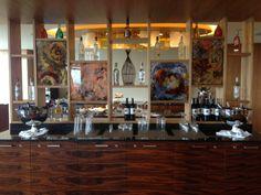 Sheraton Club Lounge Bar Liquor Cabinet, Lounge, Club, Bar, Storage, Furniture, Home Decor, Airport Lounge, Purse Storage