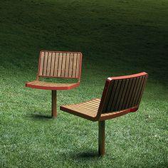 Visitor chair / contemporary / wooden / steel BERLIN by Espen Voll,Michael Olofsson & Tore Borgesen Vestre