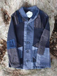 foraged denim jacket