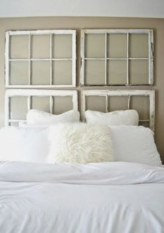 22 ways to make a headboard out of almost anything - Slate Bedroom 2015