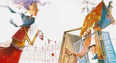 Rogério Coelho - Ilustrador - O amor pega feito um bocejo