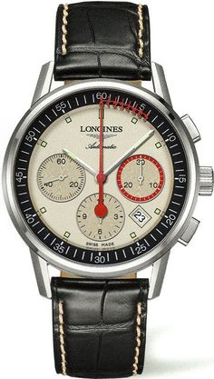@longineswatches Column Wheel Chronograph Record Mens #bezel-fixed #brand-longines #buckle-type-tang-type-buckle #case-material-steel #case-width-41mm #chronograph-yes #date-yes #delivery-timescale-1-2-weeks #dial-colour-cream #gender-mens #l47544724 #limited-code #luxury #movement-automatic #official-stockist-for-longines-watches #packaging-longines-watch-packaging #sku-lng-685 #subcat-column-wheel #supplier-model-no-l4-754-4-72-4 #warranty-longines-official-2-year-g...