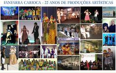 Espetáculos diversos: shows musicais, espetáculos teatrais, campanhas, eventos etc.