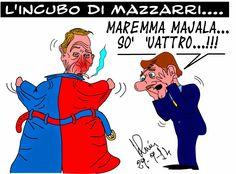 Graffiti satirici...: Inter . Cagliari: UNO a QUATTRO.....